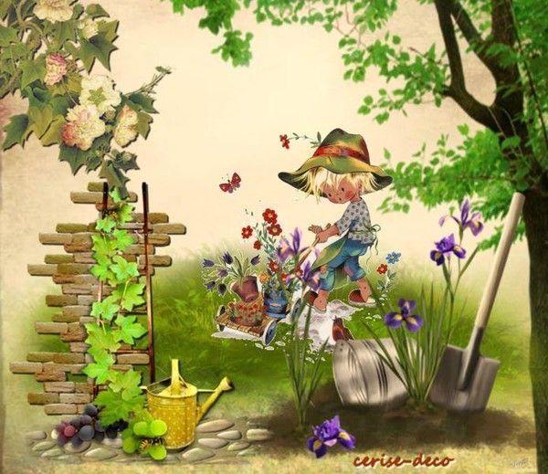 vos créations3 pour le cluster au jardin