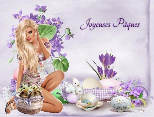 bon week-end de pâques à mes amis(e) et visiteurs