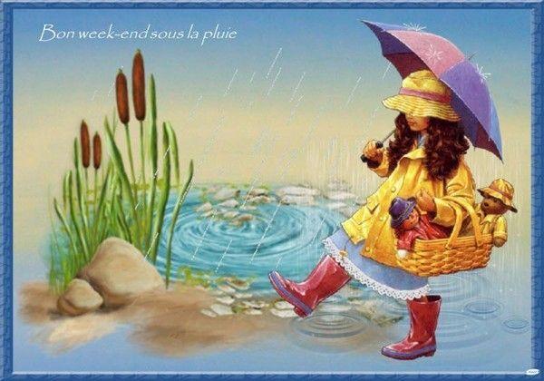 """Résultat de recherche d'images pour """"bon we avec la pluie"""""""